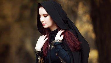 Mystisches Mittelalter Kostüm Damen