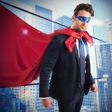 Faschingskostüm Herren Superman