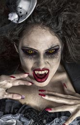 Halloween Kostüme Damen - Vampir
