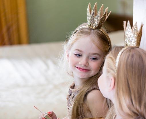 Kleine Prinzessin Fasching