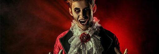 Vampir gruseliges Kostüm Herren