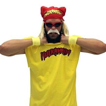 Hulk-Hogan-Hulkamania-Complete-Kostm-Set-Rot-SunglassesRot-Bandana-0