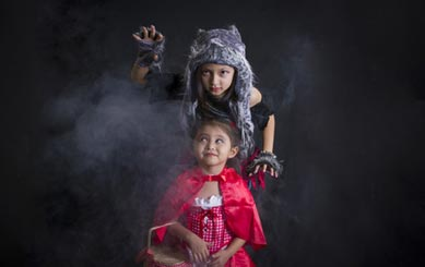 Rotkäppchen Kostüm Kinder