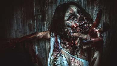 Zombie Kostüm Damen