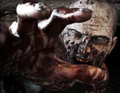Zombie Maske für Halloween