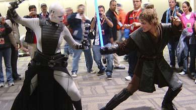 Anakin Skywalker Kostüm - Kampf mit Asajj Ventress