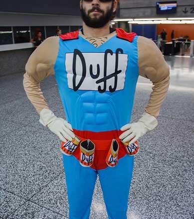 Duffman Kostüm