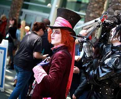 Verrückter Hutmacher Kostüm nach Johnny Depps Filmrolle