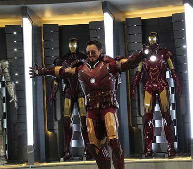 Iron Man Cosplay bei einer Convention
