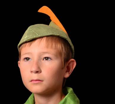 Heldenhaftes Peter Pan Kostüm