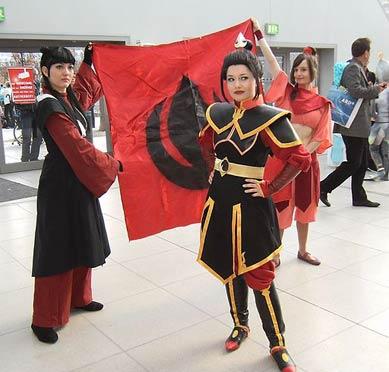 Anime Kostüme bei Messe
