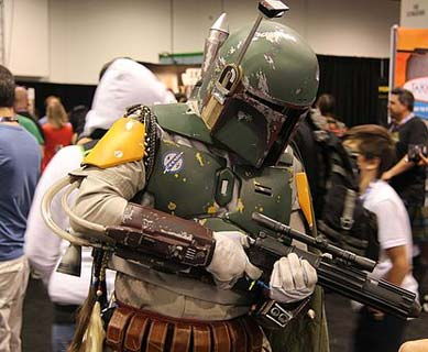 Boba Fett Kostüm Star Wars Celebration in Anaheim