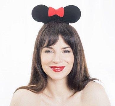 Ein Disney Kostüm Damen im Stil von Minnie Mouse
