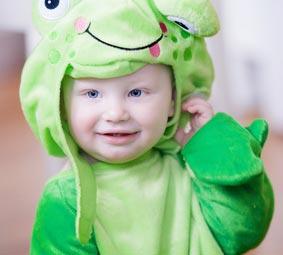 Baby Frosch Kostüm