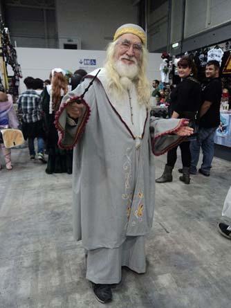 Gandalf Kostüm Romics 2013