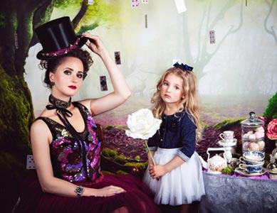 Märchenkostüme aus Alice im Wunderland