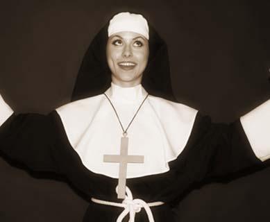 Fröhliches Nonnenkostüm