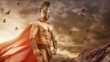 Römer Kostüm ohne Oberteil