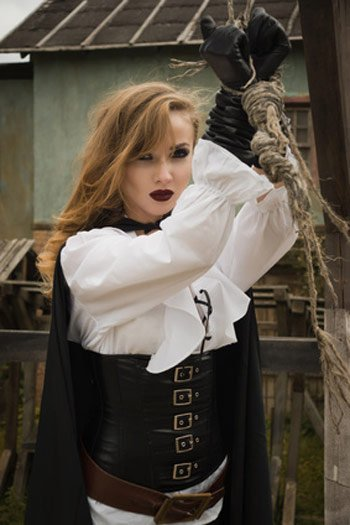 Seefrau Kostüm als Gefangene