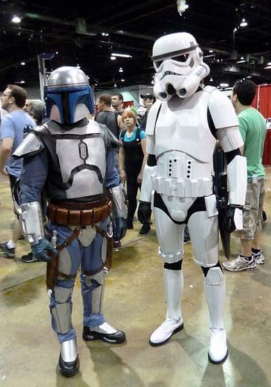 Stormtrooper Kostüm bei Wizard World Chicago 2011
