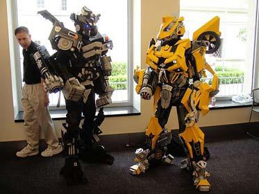 Transformers Kostüm von der BotCon 2011