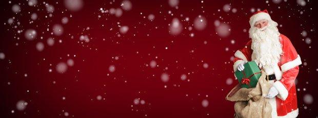 Weihnachtliches Banner für den Advent