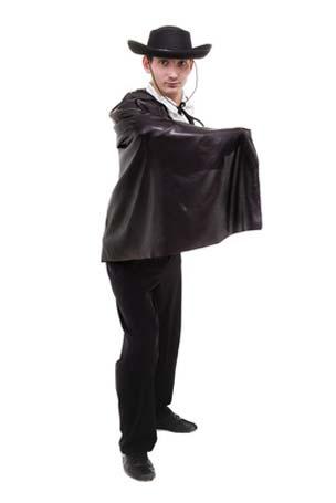 Zorro Kostüm beim Fasching